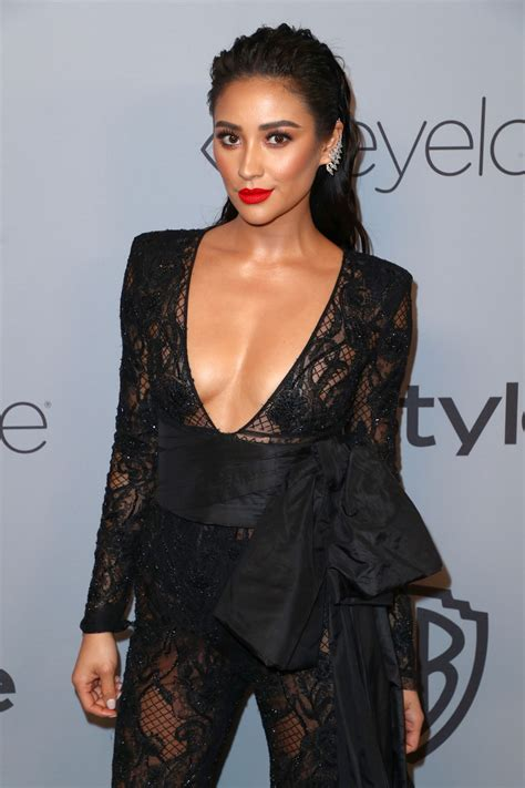 SHAY MITCHELL at Instyle and Warner Bros Golden Globes