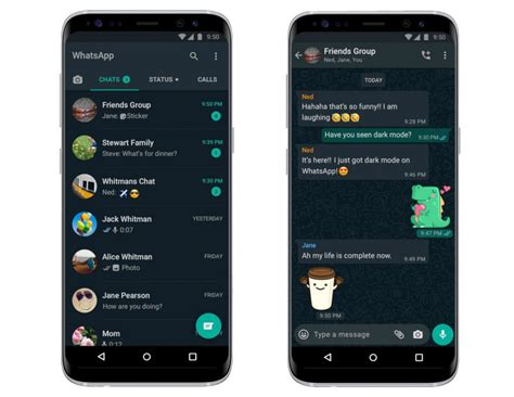 WhatsApp Dark mode finally available for all Android and
