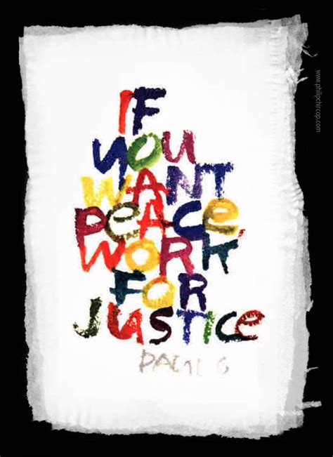 A-MUSED - IF YOU WANT PEACE, WORK FOR JUSTICE