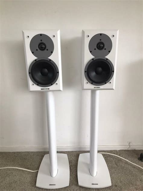 Dynaudio Emit M10's with Dynaudio 3X stands and Chord