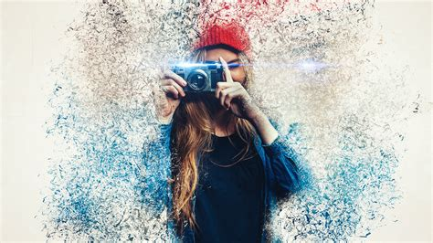 Dispersion Effect in Photoshop on Behance