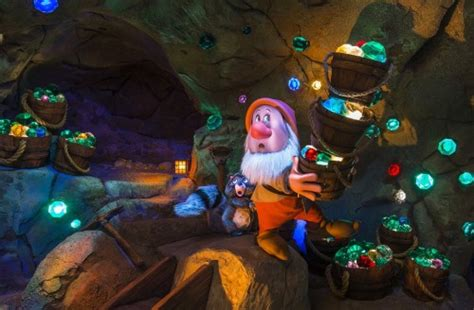Seven Dwarfs Mine Train Fun Facts and Official Photos
