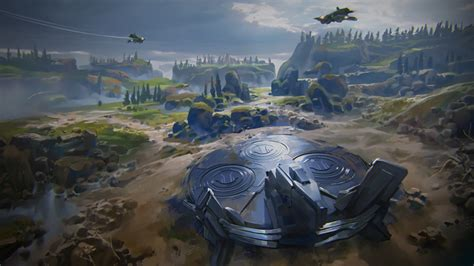The Proving Grounds - Blitz multiplayer map - Halo Wars 2