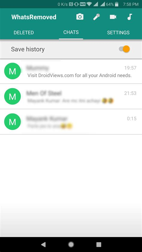 How to View Deleted WhatsApp Messages - DroidViews