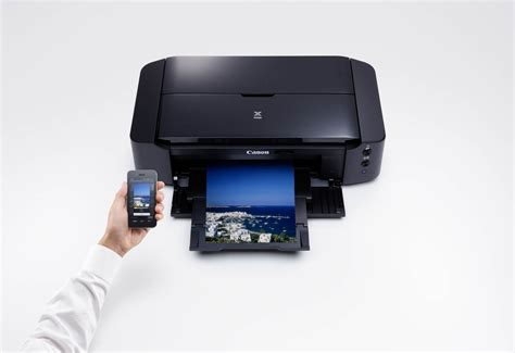 Print wirelessly to a Canon Pixma from your smart device