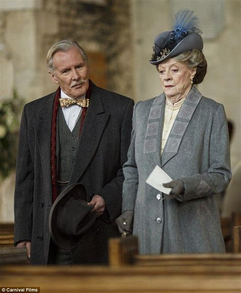 Downton Abbey's Mr Carson and Mrs Hughes finally tie the