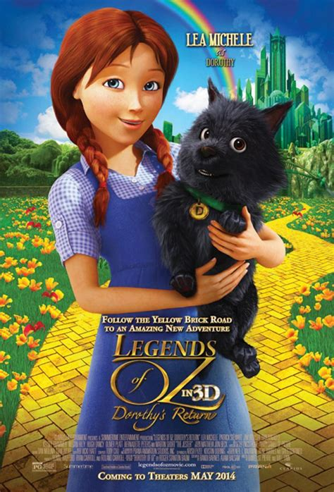 Legends of Oz: Dorothy's Return offers charming characters