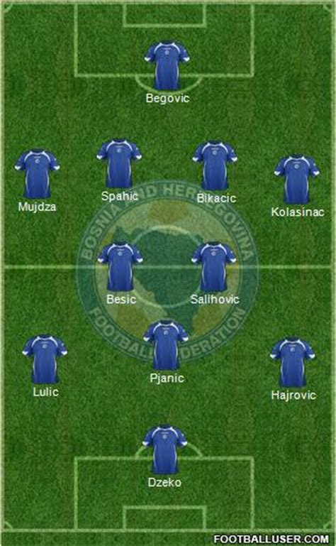 Bosnia and Herzegovina: World Cup 2014 Team Preview