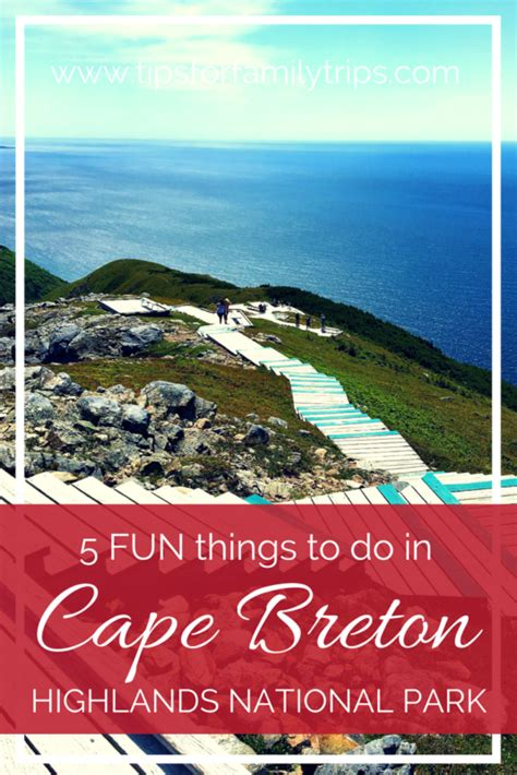 5 FUN things to do in Cape Breton Highlands National Park