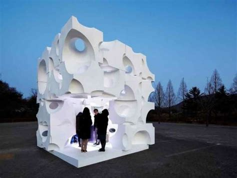 Abstract Architecture Pavilions : Art Folly Cubrick by