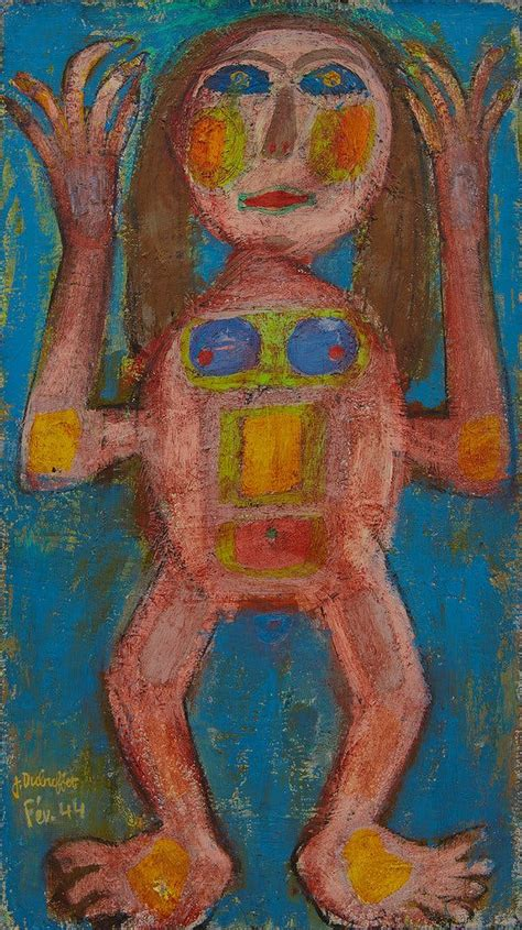 For Jean Dubuffet, the Art Brut Founder, a Gallery Show