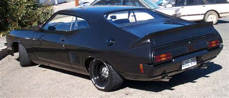 Mad Max Fan Cars - SA Interceptor from Back 2 The Max