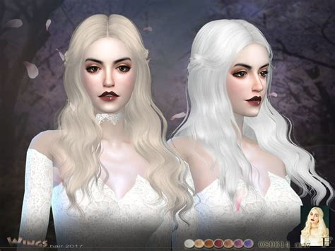Sims 4 Hairs ~ The Sims Resource: Wings OS0314 F