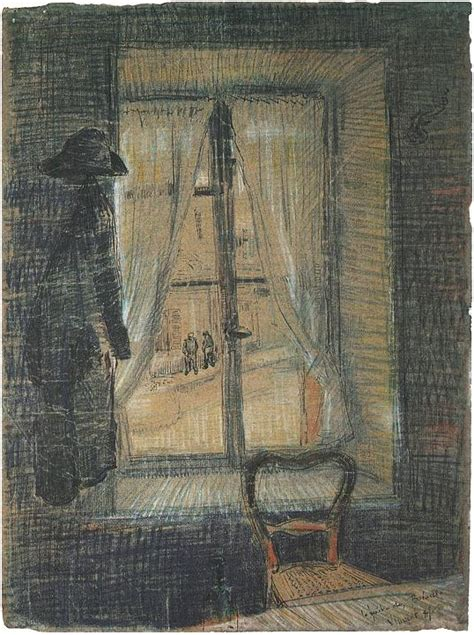 Window in the Bataille Restaurant by Vincent Van Gogh - 1684