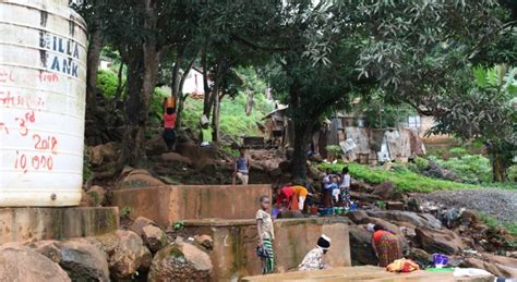With reservoirs at risk, Sierra Leone capital confronts