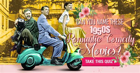 Can You Name These 1950s Romantic Comedy Movies?