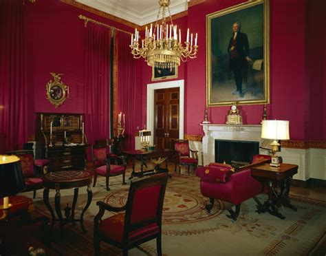 White House Rooms: Red, Green, Monroe (Treaty), State