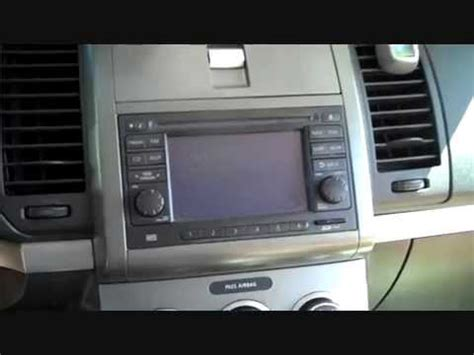 How to Nissan Sentra Bose 2007 - 2012 Car Stereo with Dim
