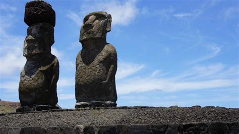 Get Free Stock Photos of Easter Island Statues Online