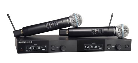 Shure SLXD24D/B58 Dual Wireless Vocal System With BETA 58