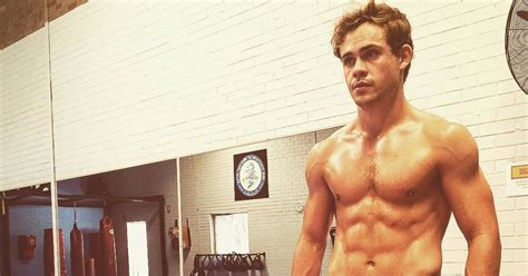 Dacre Montgomery Shirtless Photos and GIFs | POPSUGAR