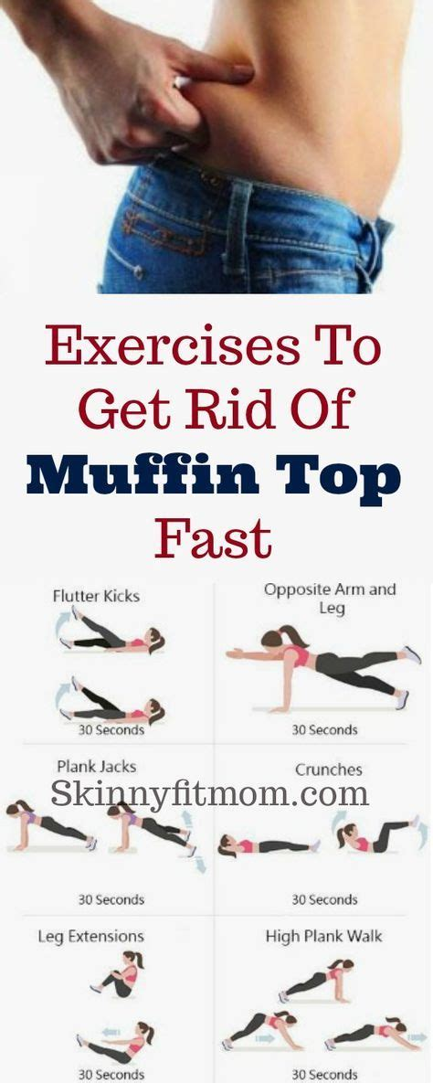 Feel the burn with this intense muffin top workout! These