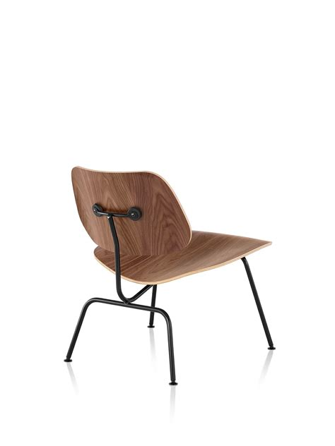 Eames Molded Plywood Lounge Chair with Metal Base - Herman