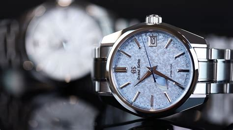 The Dials On These Spring Drive Watches - Amazing! Grand