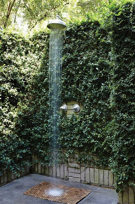 Outdoor Showers Is A Fascinating Idea To Cheer Up The Outdoors