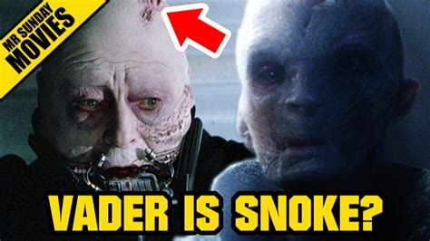 Is Snoke Darth Vader? STAR WARS: THE FORCE AWAKENS - YouTube