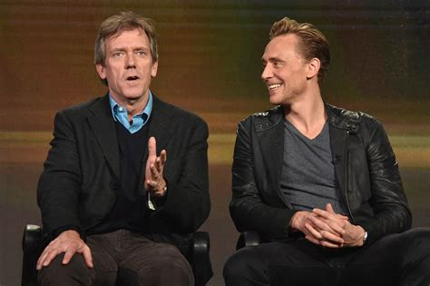 Tom Hiddleston promotes The Night Manager and likely still