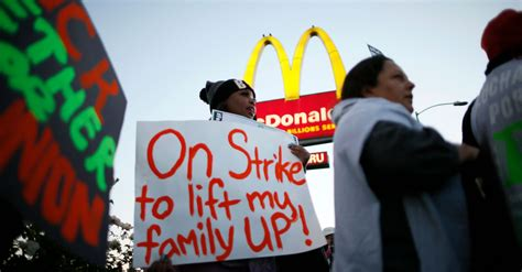 Low-Wage Workers Plot Their Next 'Fight For $15' Strike