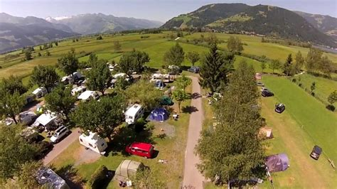 Camping Panorama Camp Zell am See, Österreich - YouTube