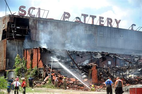 Fire at former Scio Pottery plant shuts down packaging