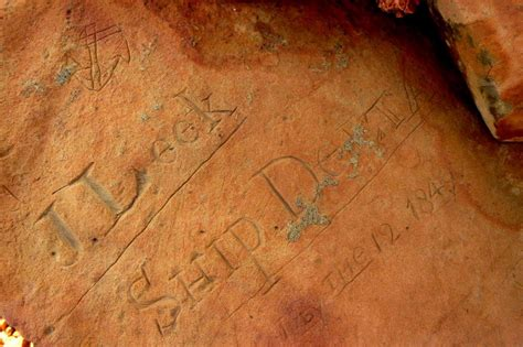 American whalers recorded voyages in Australian rock art