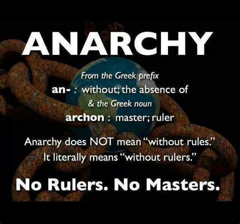 The real Definition of Anarchy   Enlightenment & Other