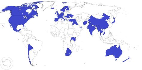 Countries visited on Top Gear [x-post /r/mapporn] : TopGear