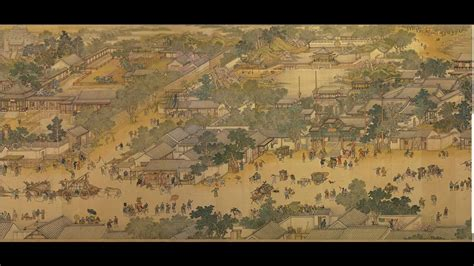 Along the River during Ching-Ming Festival 清明上河圖 (Animated