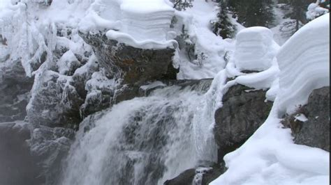 Lewis Falls / Yellowstone National Park / USA | RM-Video