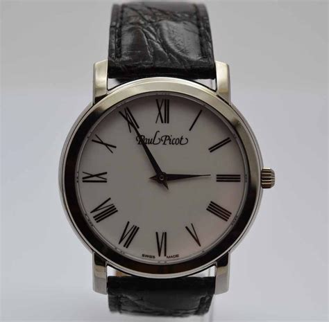 Paul Picot Firshire ronde, Paul Picot watches thickness