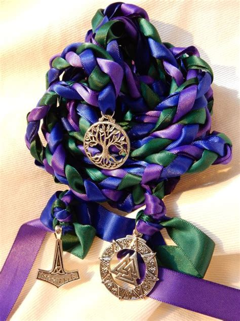 3 Charm Norse Theme Wedding Hand Fasting/ Binding by