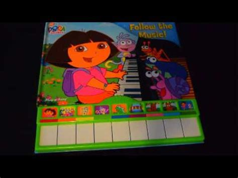 DORA PLAY-A-SONG PIANO FOLLOW THE MUSIC STORY KIDS MUSIC