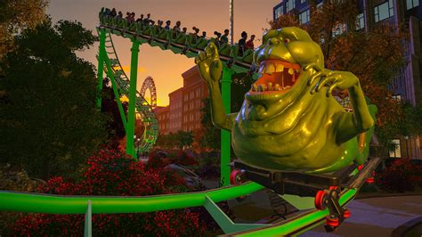Ghostbusters DLC Now Available for Planet Coaster - Niche