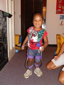 Easterseals   A Little Girl with Spina Bifida Takes One